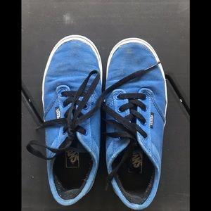 EUC Vans Boys' Canvas Shoes - Size 3